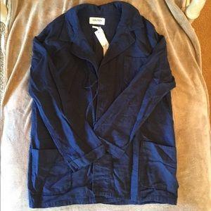 Dark Wash Chambray Jacket